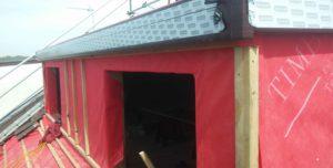 Flat-dormer-construction