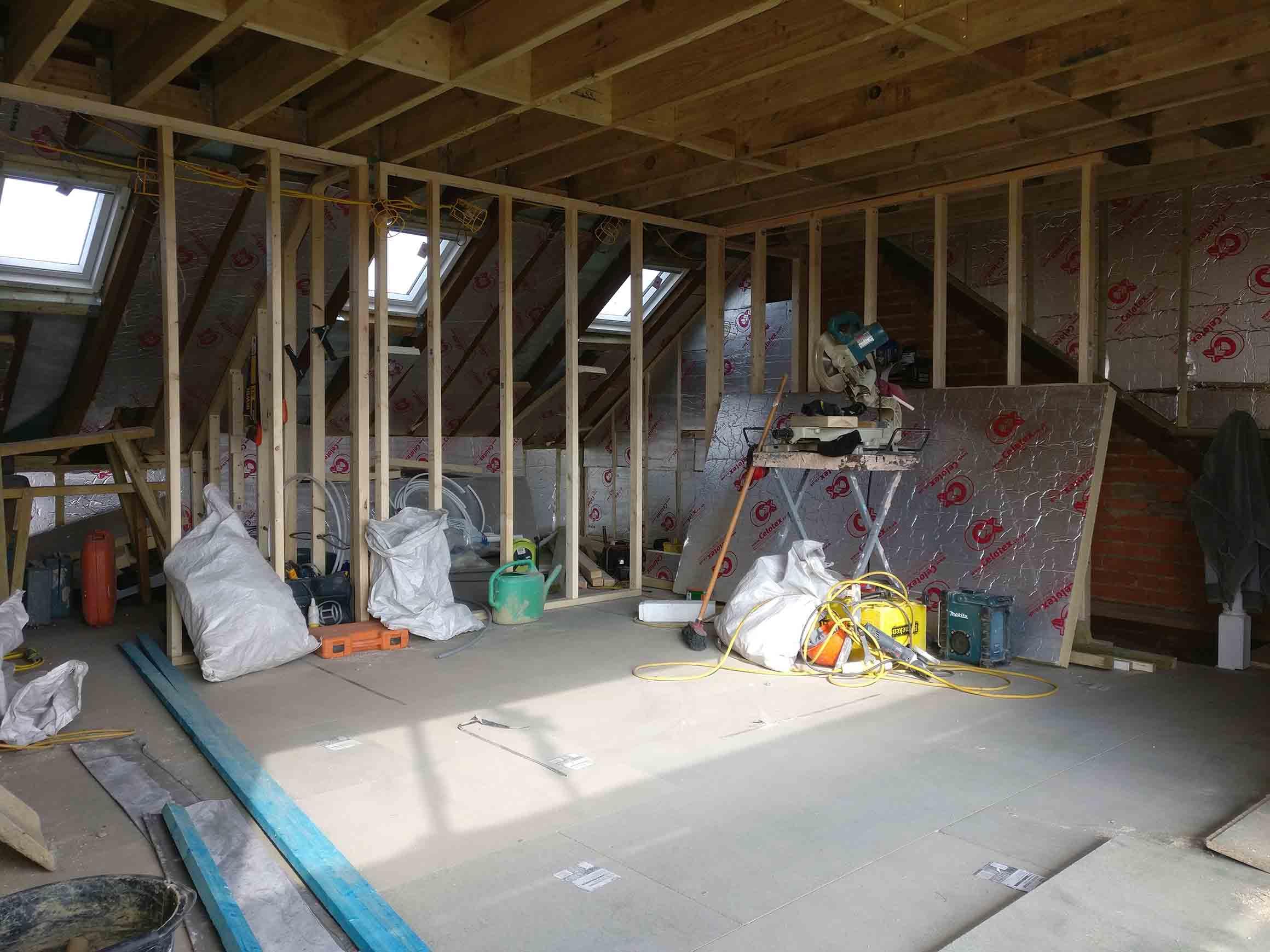 loft-under construction